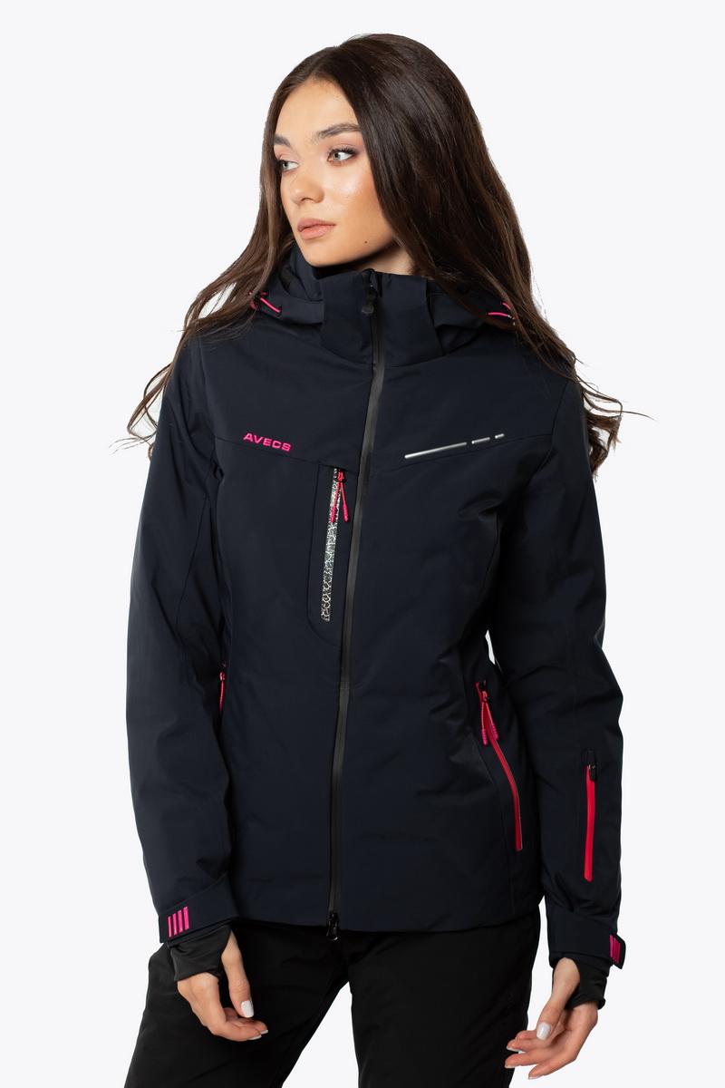 Лыжная Куртка AVECS - 70441/23_34 - Тёмно-Синяя