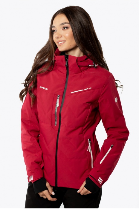 Лыжаня Куртка AVECS - 70441/52 - Бордовая