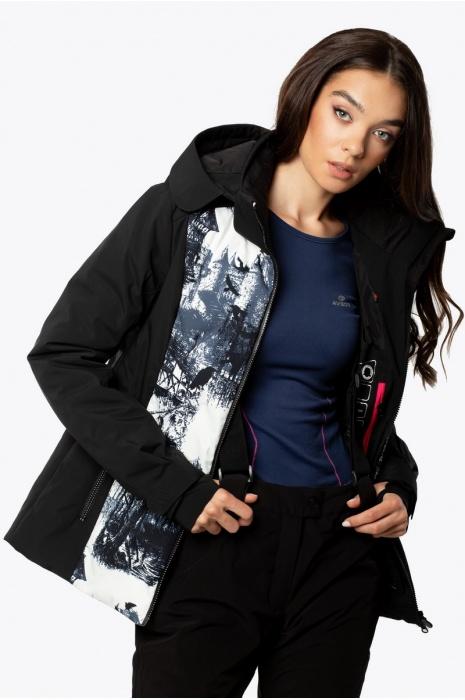 Лыжная Куртка AVECS - 70444/1 - Черная