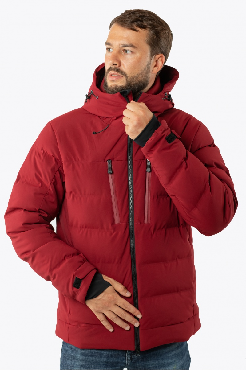 Куртка  AVECS - 70454/52 - Бордовая