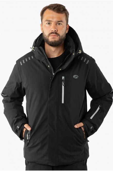 Лыжная Куртка AVECS - 70457/1 - Черная