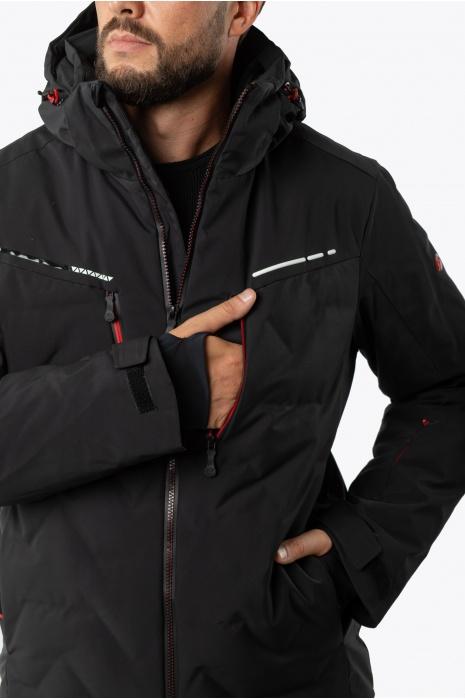Лыжная Куртка AVECS - 70458/1 - Черная
