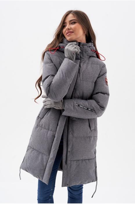 Куртка AVECS - 70461/2 - Серая