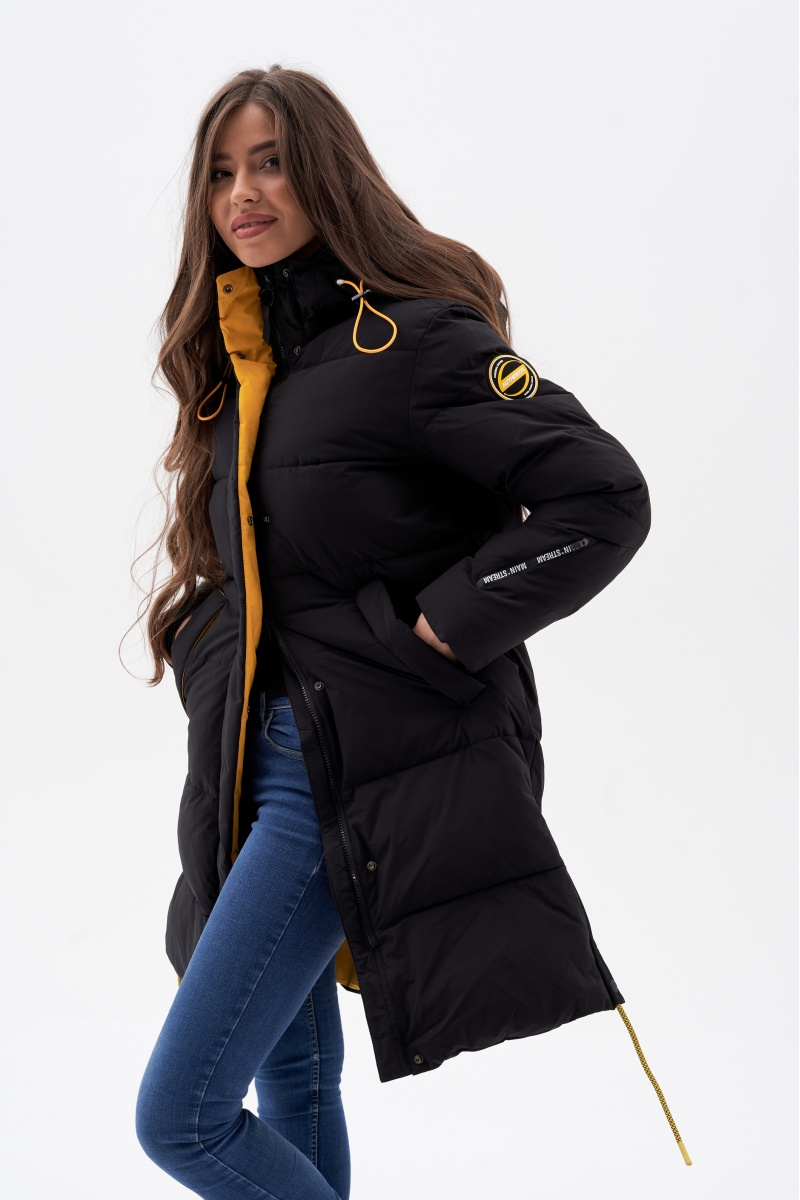 Куртка AVECS - 70461/1 - Черная