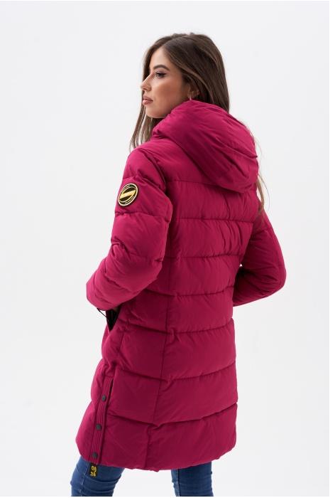 Куртка AVECS - 70462/37 - Брусничный