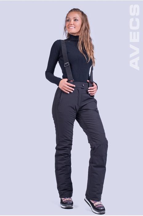 Брюки Лыжные AV-7927 Чёрный