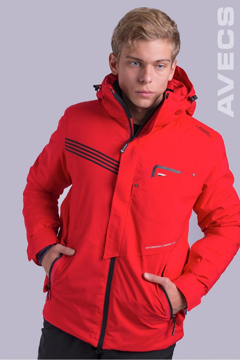 Куртка Лыжная 8653-AV Красный