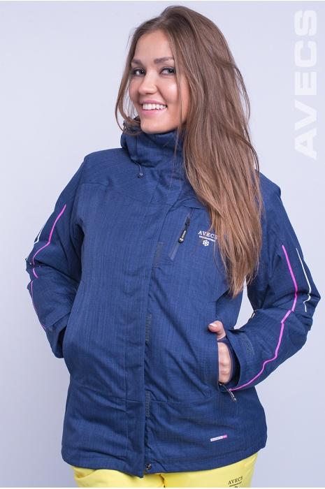 Куртка Лыжная AV-8681 Тёмно-Синий