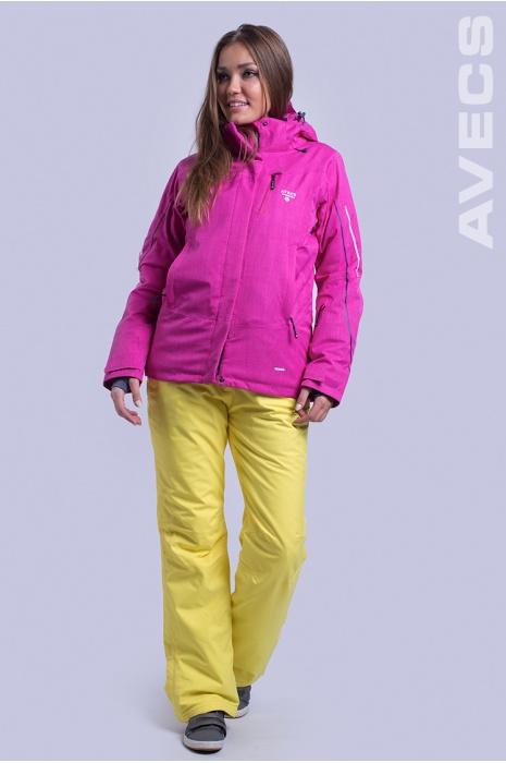 Куртка Лыжная AV-8681 Малиновый