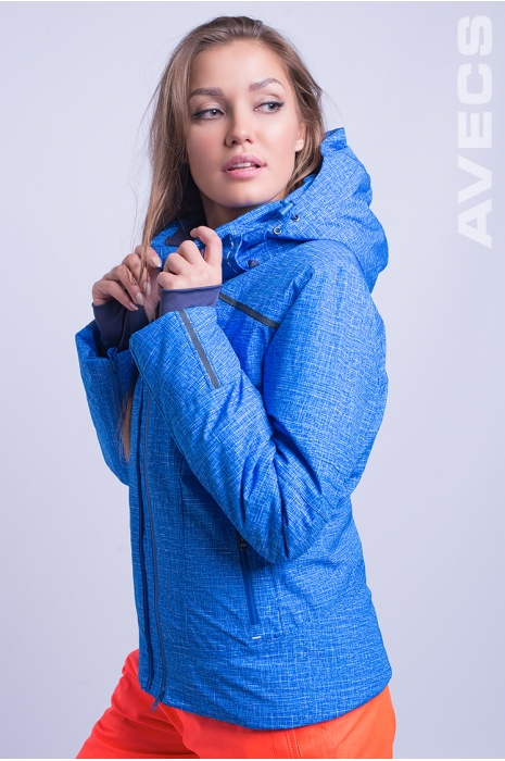 Куртка Лыжная AV-8683 Голубой