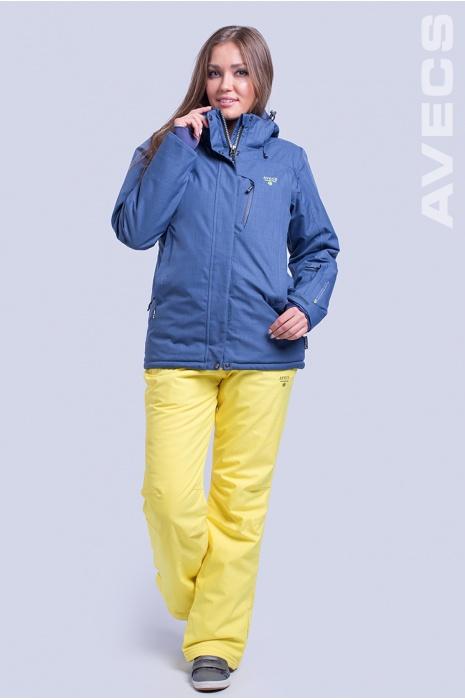 Куртка Лыжная AV-8695 Джинсовый